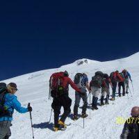 guia de montaña en Elbrus