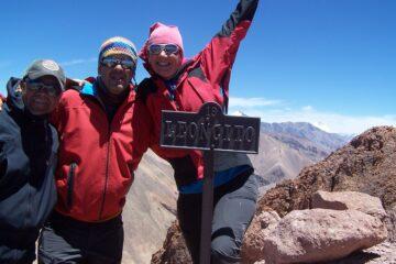 Ascenso Cerro Leoncito