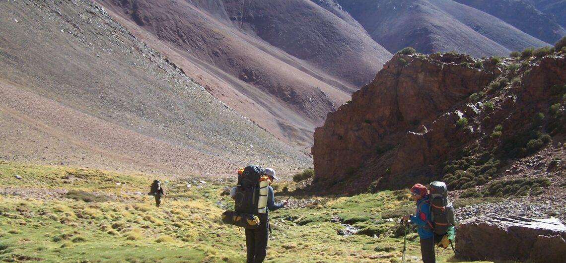 Montañismo en el cordon del tigre