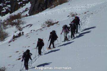 programas invernales. La magia de la montaña