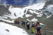 cerro Plata, hacia campamento La Ollada