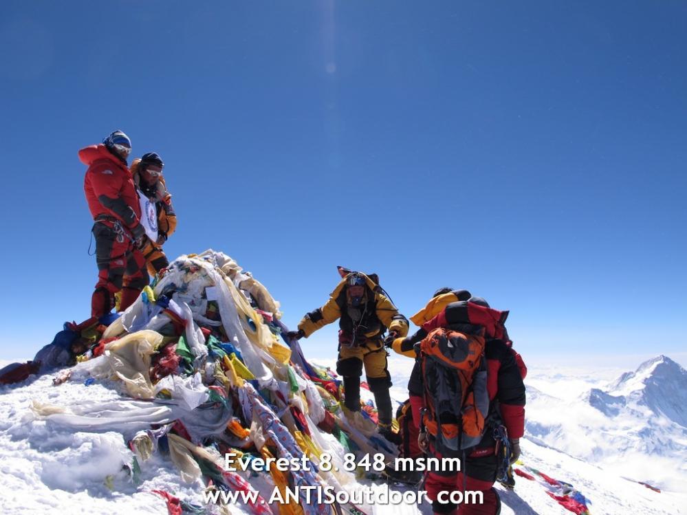 Everest, Siete Cumbres