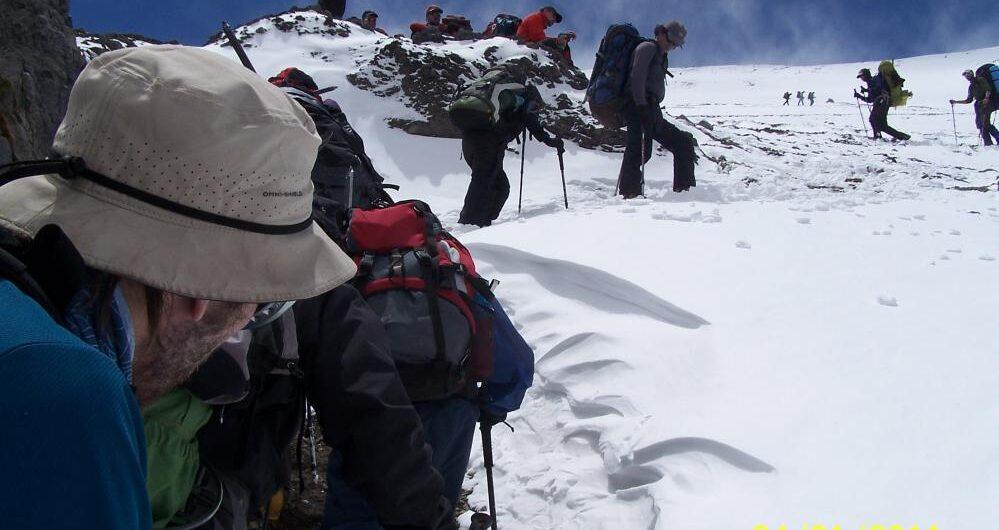 Aconcagua, la montaña más alta de Occidente