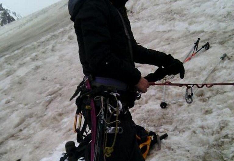 curso escalada en hielo agosto 2016