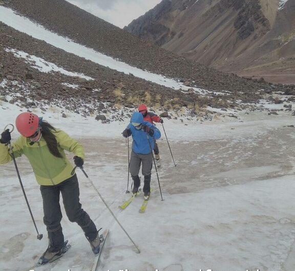 curso invernal y esquí de travesía