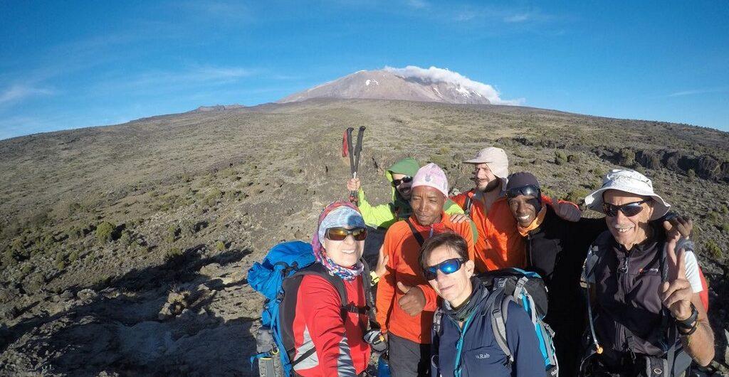 kilimanjaro en octubre