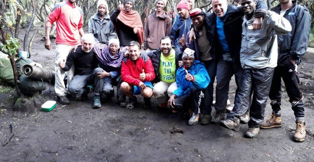 Kilimanjaro nevado