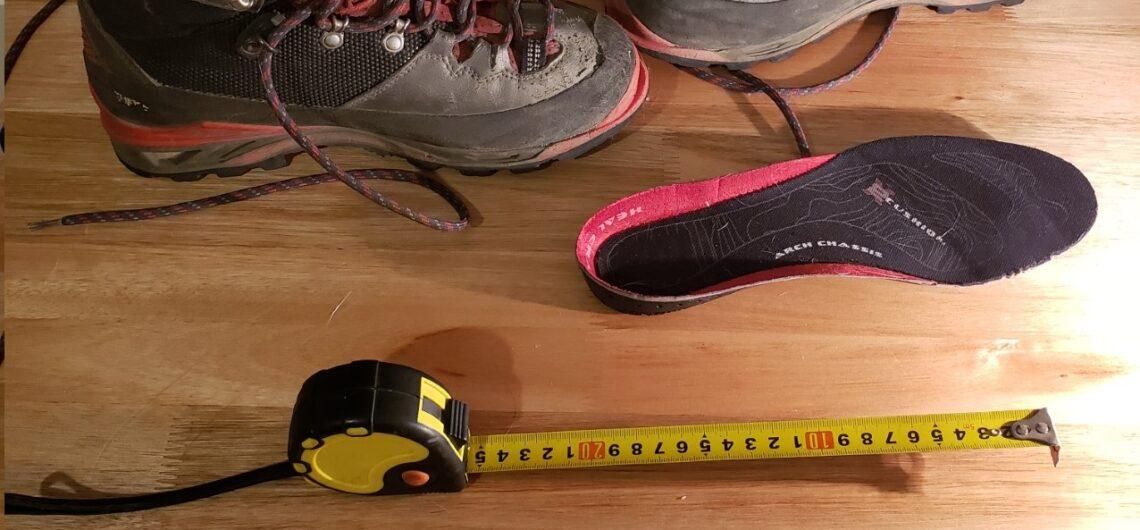 Como elegir el talle de las botas de montaña