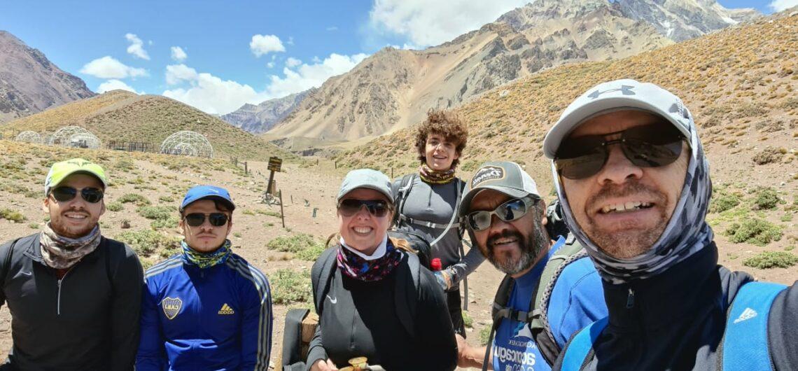 Trakking familiar en Aconcagua