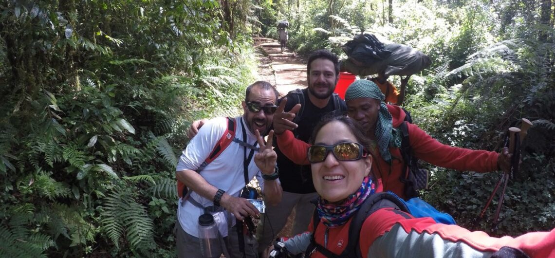 Kilimanjaro cumbre de Africa