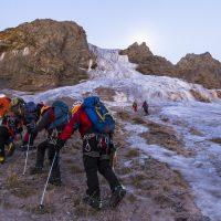 donde aprender a escalar en hielo