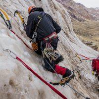 quiero aprender a escalar en hielo