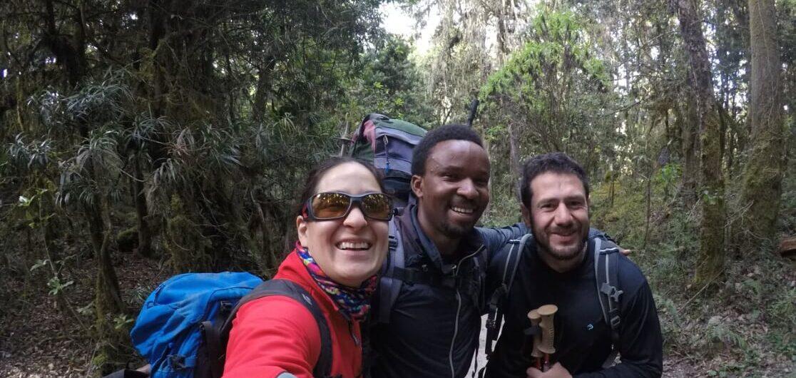 Guias de montaña en kilimanjaro