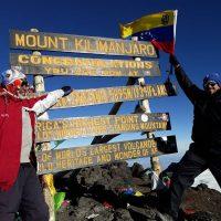 Cumbre del Monte Kilimanjaro