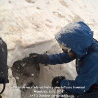 curso invernal de montaña