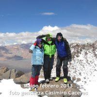 grupos guiados al volcan maipo