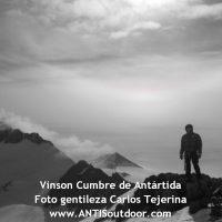 punto más alto de la antártida