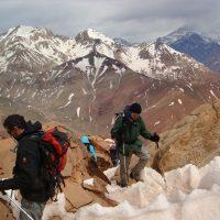 montañismo en mendoza