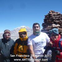 expedicion a la cumbre del nevado san francisco